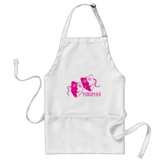thespian hot pink aprons