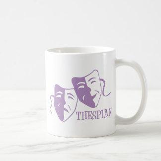 thespian lavender coffee mugs