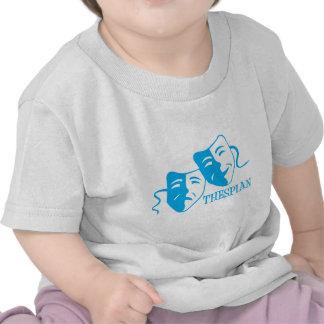 thespian light blue t shirt