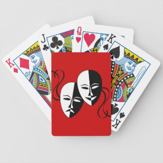 Thespian Masks Bicycle Playing Cards