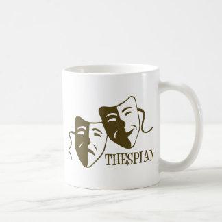 thespian od green mugs