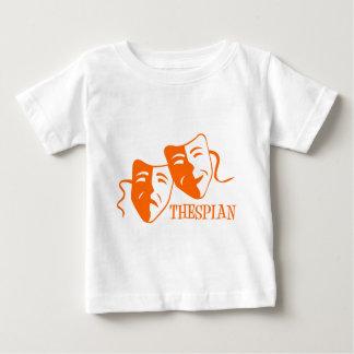 thespian orange baby T-Shirt