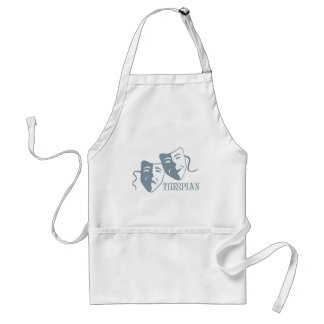 thespian periwinkle apron