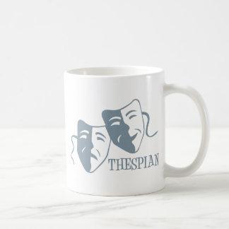 thespian periwinkle coffee mugs