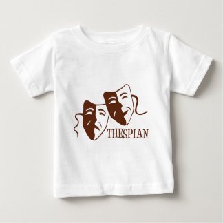 thespian red brown baby T-Shirt