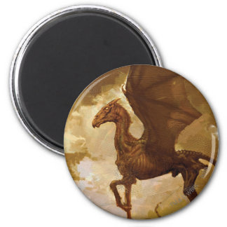 Thestral 2 Inch Round Magnet