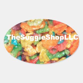 TheSuggieShopLLC ™ Oval Stickers