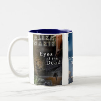 TheSummerDeal, TheGreekRule, EyesOfTheDead2 Two-Tone Coffee Mug