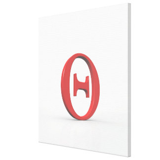 Theta 2 stretched canvas prints