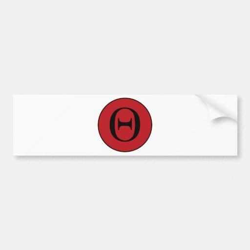 Theta Bumper Sticker