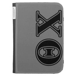 Theta Chi Black Letters Kindle 3G Cover