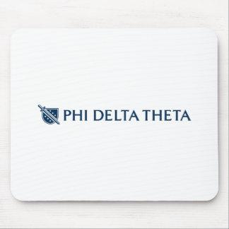 Theta del delta de la phi - logotipo horizontal az alfombrillas de ratones