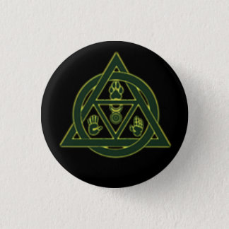 Theta-Delta Therian Otherkin Pin