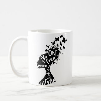 "Theta Nu Xi ""Unfree"" Mug"