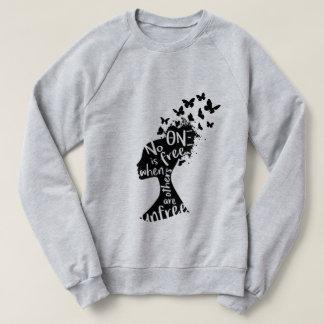"Theta Nu Xi ""Unfree"" Unisex Sweatshirt"