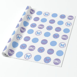 "Theta Nu Xi Wrapping Paper, Glossy, 30"" x 15'"