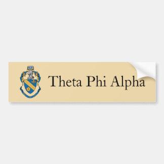 Theta Phi Alpha Coat of Arms Bumper Sticker