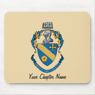 Theta Phi Alpha Coat of Arms Mouse Pads