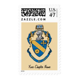 Theta Phi Alpha Coat of Arms Postage