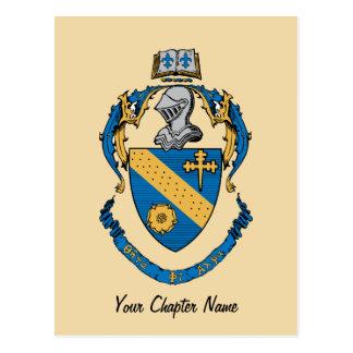 Theta Phi Alpha Coat of Arms Postcard