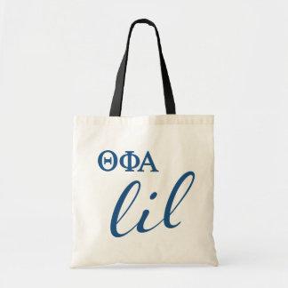 Theta Phi Alpha Lil Script Tote Bag