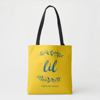 Theta Phi Alpha Lil Wreath Tote Bag