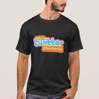TheTed, @YourUsername Twitter Blue T-Shirt