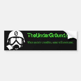 Theundergr0und.org Bumper Sticker
