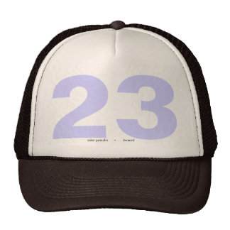 they 23dream mesh hat
