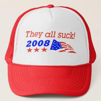 They all suck trucker hat