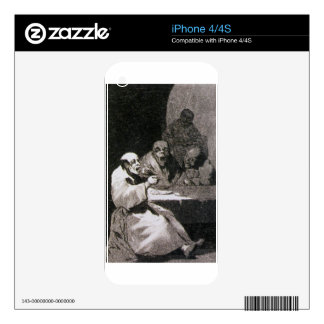 They are hot by Francisco Goya Skin For iPhone 4S