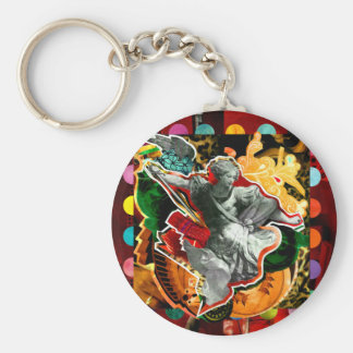 They are Miguel Arcanjo (Archangel Michael) Keychain