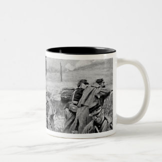 They Awaited the Order to Charge Two-Tone Coffee Mug