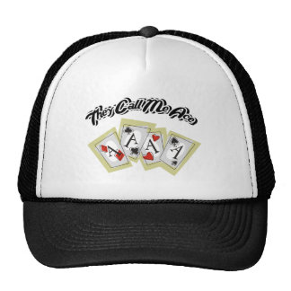 They Call Me Ace Trucker Hats