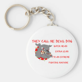 They Call Me Devil Dog Keychain