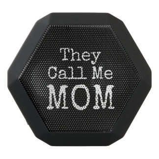 They Call Me Mom Black Bluetooth Speaker