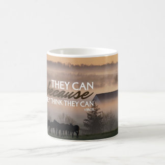 They Can Motivational Quote Mug