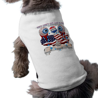 They-Can't-See-Eye-to-Eye-1 Camisa De Perro