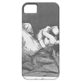 They Carried her Off by Francisco Goya iPhone SE/5/5s Case