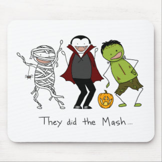 They did the Mash - Halloween Mouse Pad