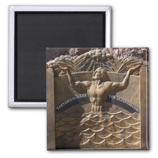 They Died to Make the Desert Bloom 2 Inch Square Magnet