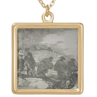 They do not know the way, plate 70 of 'The Disaste Jewelry