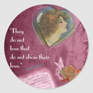 They Do Not Love... Classic Round Sticker