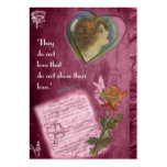 They Do Not Love... Gift Tag Large Business Card
