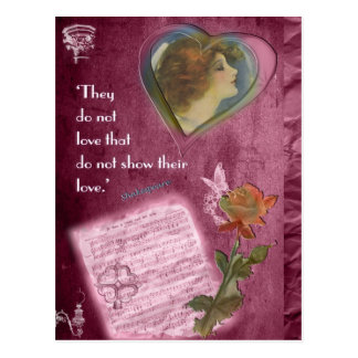 They Do Not Love... Postcard