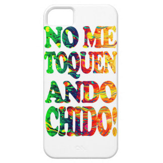 They do not touch to me I walk chido iPhone SE/5/5s Case