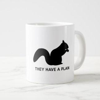 They Have a Plan 20 Oz Large Ceramic Coffee Mug
