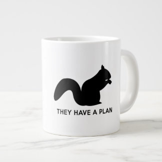 They Have a Plan 20 Oz Large Ceramic Coffee Mug