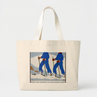 They like winter in New York State Jumbo Tote Bag