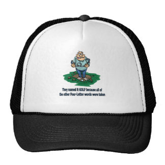 They named it golf because trucker hat